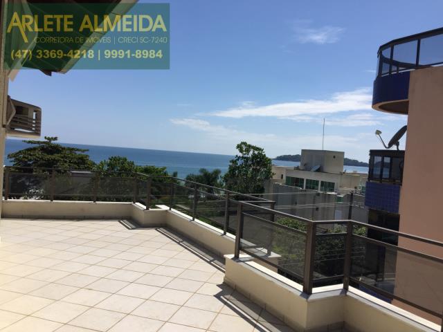 31 - Teraço com vista (foto 4), de cobertura à venda, em Bombas/Bombinhas.