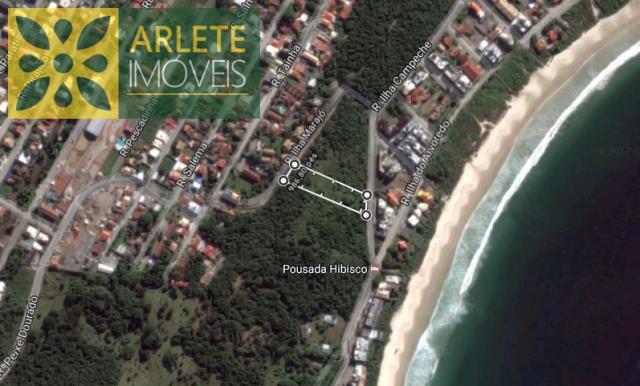 3 - Vista aérea de terreno à venda em Quatro Ilhas/Bombinhas/SC