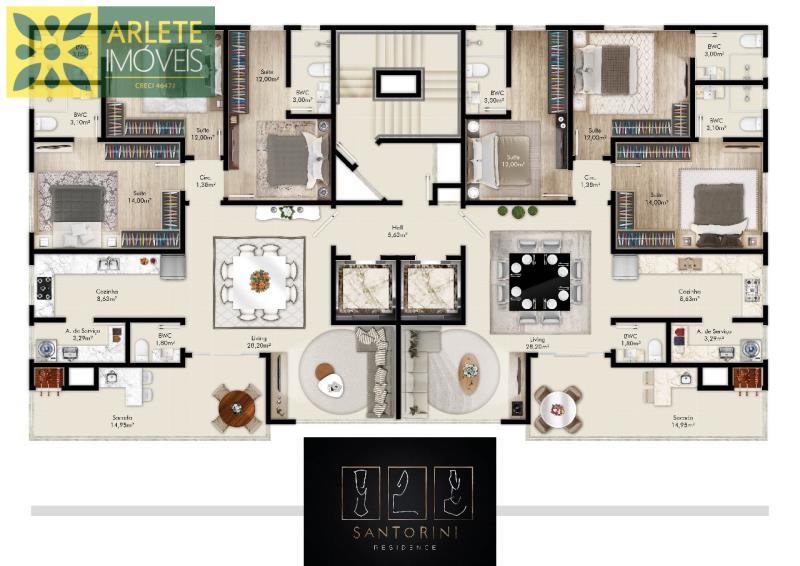 Apartamento-Codigo-1600-a-Venda-no-bairro-Perequê-na-cidade-de-Porto-Belo