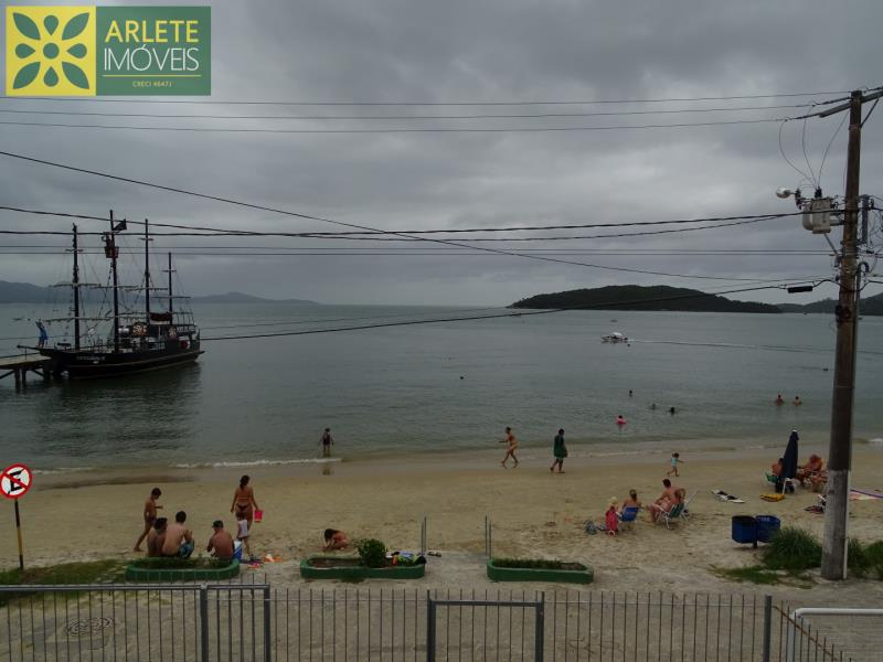 12 - vista varanda casa beira mar locação centro porto belo