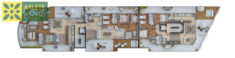24 - planta venda apartamento bombinhas
