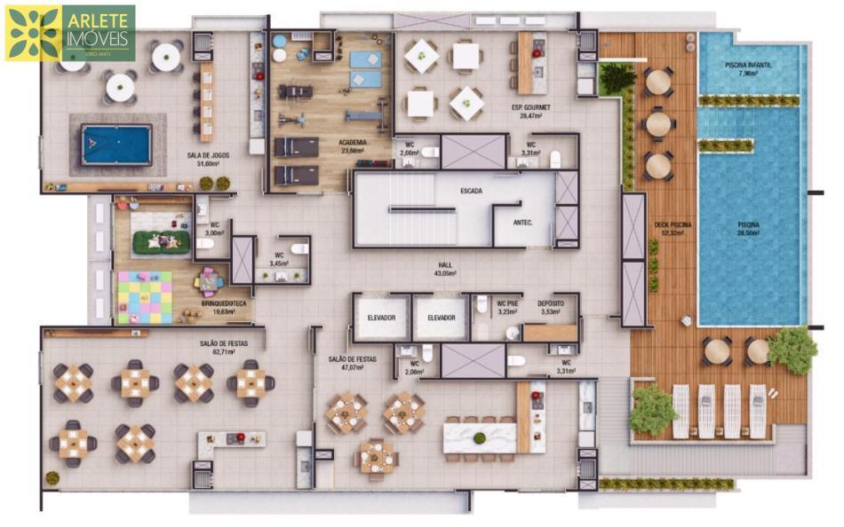 2 - Área de lazer no rooftop