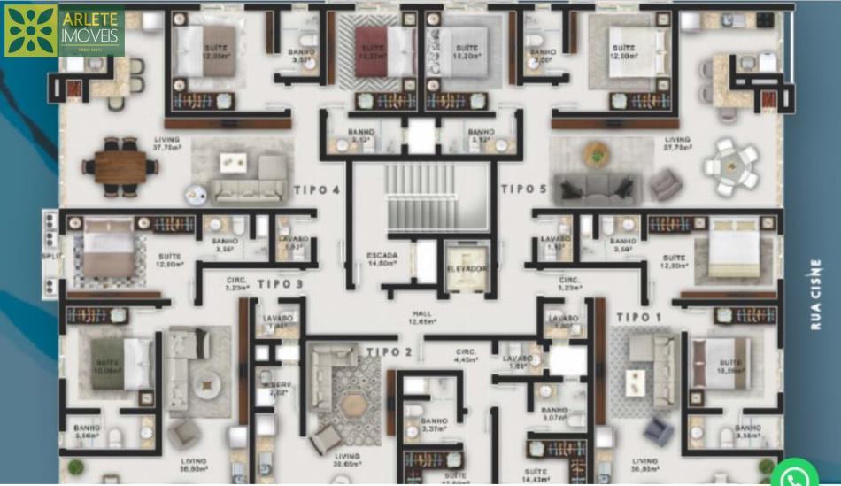 6 - Apartamento 208 Bloco C Residencial Acropole