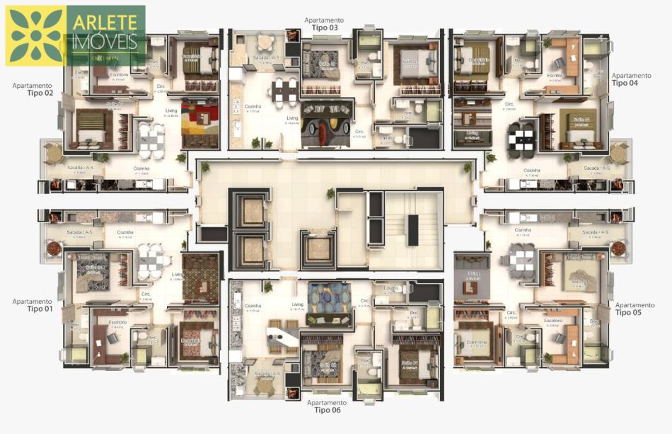 Apartamento-Codigo-1954-a-Venda-no-bairro-Tabuleiro-das-Oliveiras-na-cidade-de-Itapema