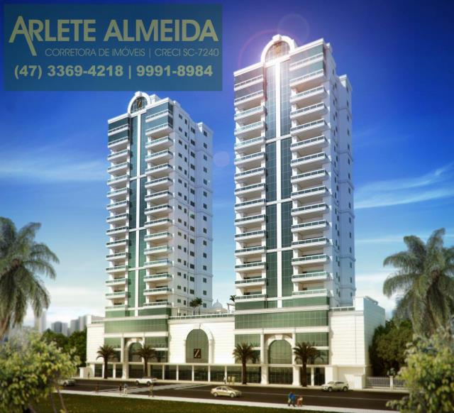 Apartamento Codigo 973 a Venda no bairro-Meia Praia na cidade de Itapema
