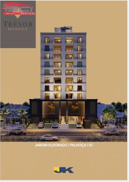 Apartamento - Código 1015 Imóvel a Venda no bairro Jardim Eldorado na cidade de Palhoça