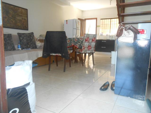 Vista sala de estar/jantar