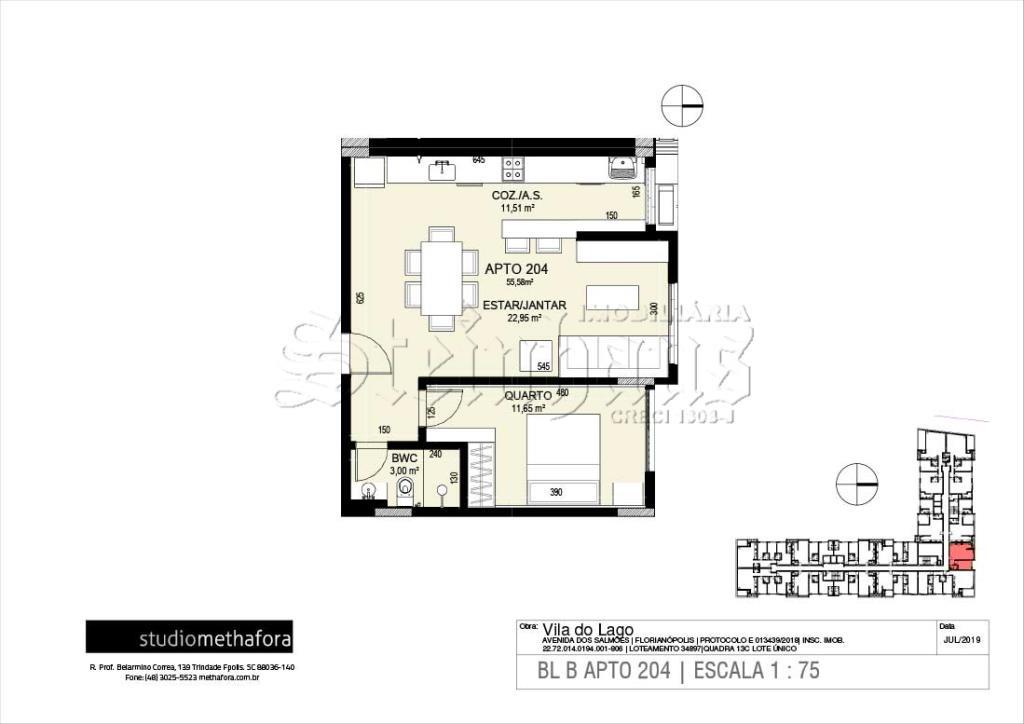 Apartamento Código 10577 para Venda no bairro Jurerê Internacional na cidade de Florianópolis
