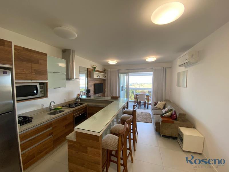 Apartamento Codigo 65 para Alugar para temporada no bairro Palmas na cidade de Governador Celso Ramos sala