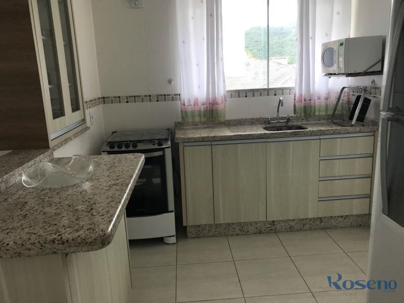 Apartamento Codigo 114 para Alugar para temporada no bairro Palmas na cidade de Governador Celso Ramos Cozinha