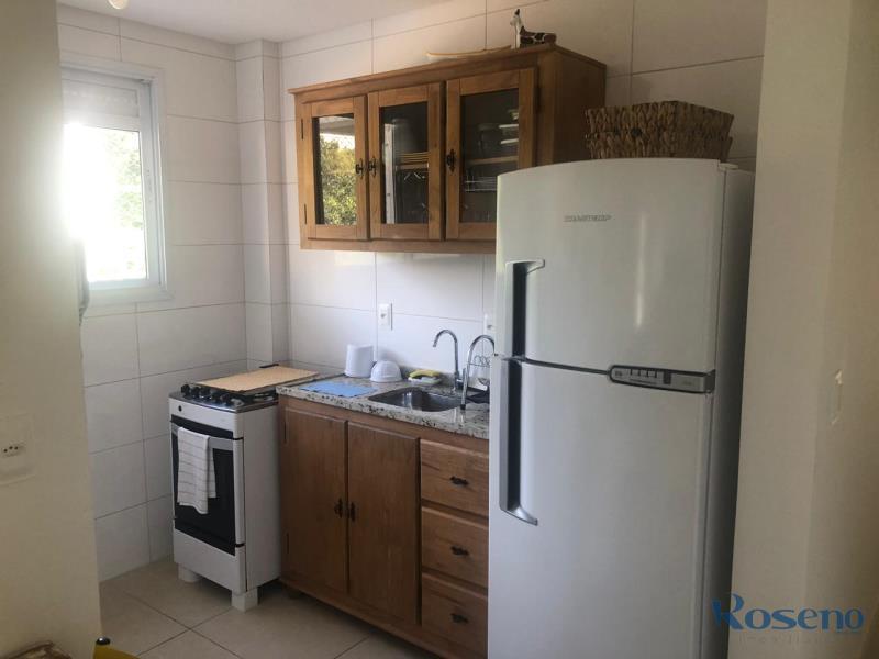 Apartamento Codigo 99 para Alugar para temporada no bairro Palmas na cidade de Governador Celso Ramos Cozinha