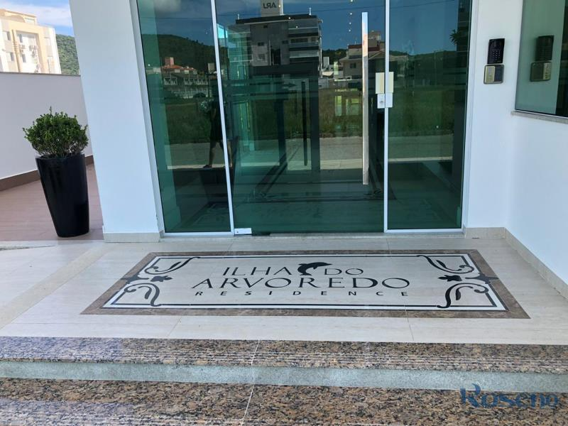 Apartamento Codigo 21 para Alugar para temporada no bairro Palmas na cidade de Governador Celso Ramos Hall de entrada