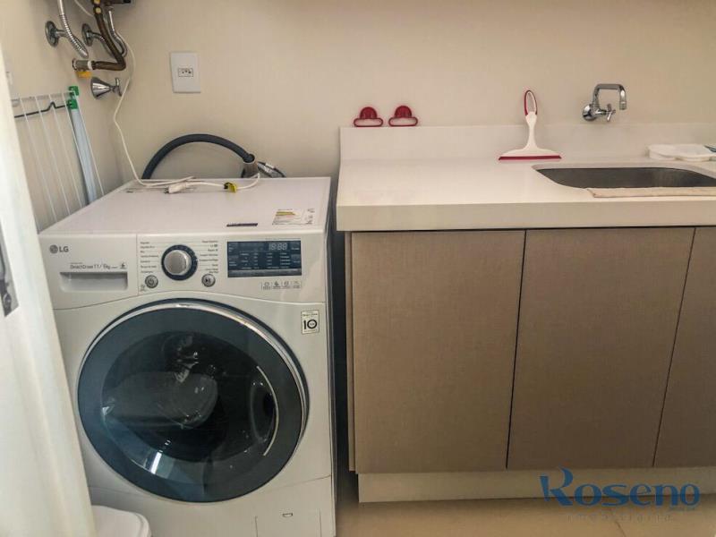 Apartamento Codigo 23 para Alugar para temporada no bairro Palmas na cidade de Governador Celso Ramos Área de serviços