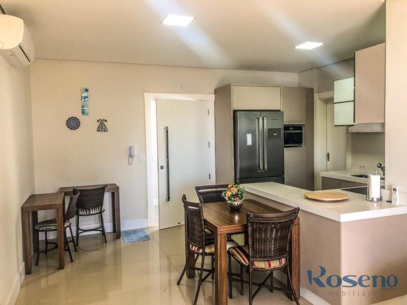 Apartamento Codigo 23 para Alugar para temporada no bairro Palmas na cidade de Governador Celso Ramos Cozinha