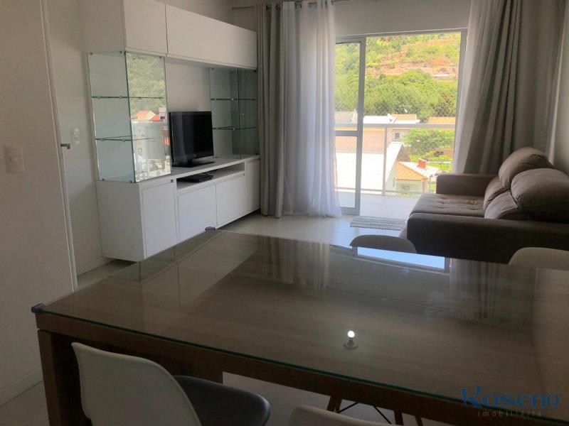 Apartamento Codigo 78 para Alugar para temporada no bairro Palmas na cidade de Governador Celso Ramos Cozinha e sala
