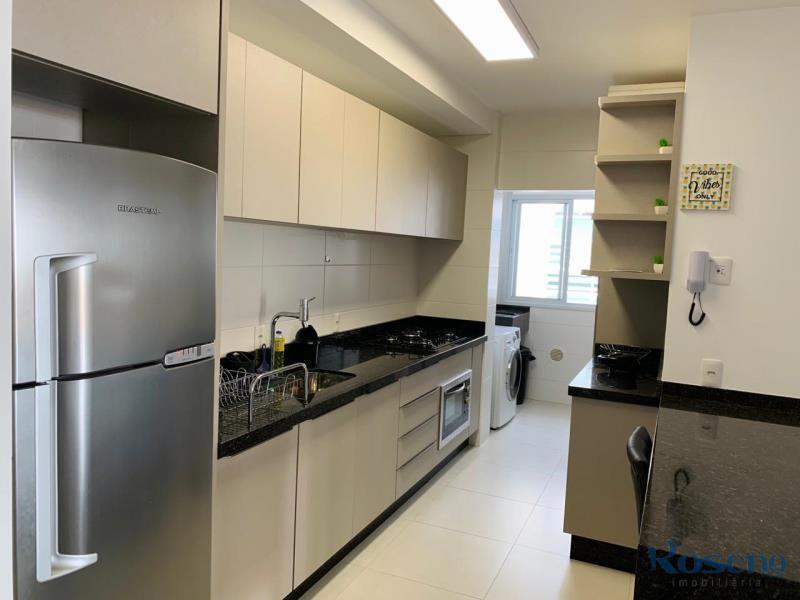 Apartamento Codigo 54 para Alugar para temporada no bairro Palmas na cidade de Governador Celso Ramos cozinha