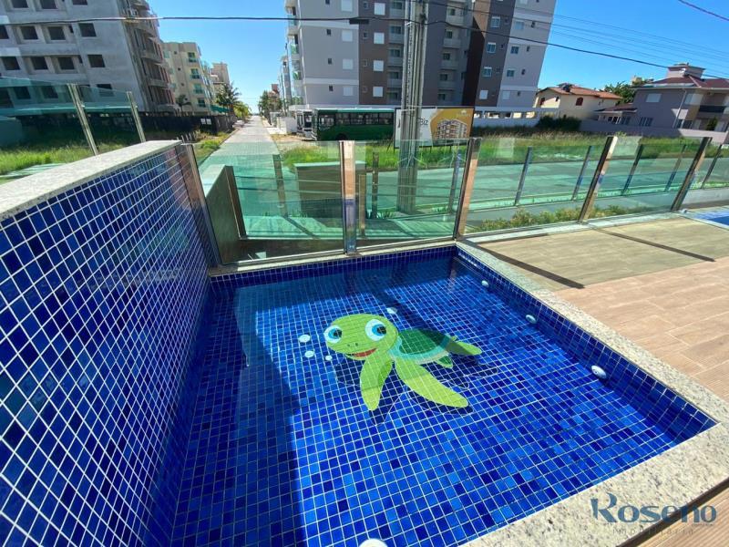 Apartamento Codigo 185 a Venda no bairro Palmas na cidade de Governador Celso Ramos Atlântico Residencial Piscina infantil