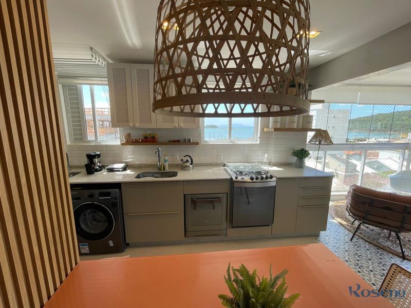 Apartamento Codigo 43 para Alugar para temporada no bairro Palmas na cidade de Governador Celso Ramos Cozinha
